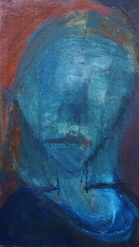 Portræt af en blå stemning 1