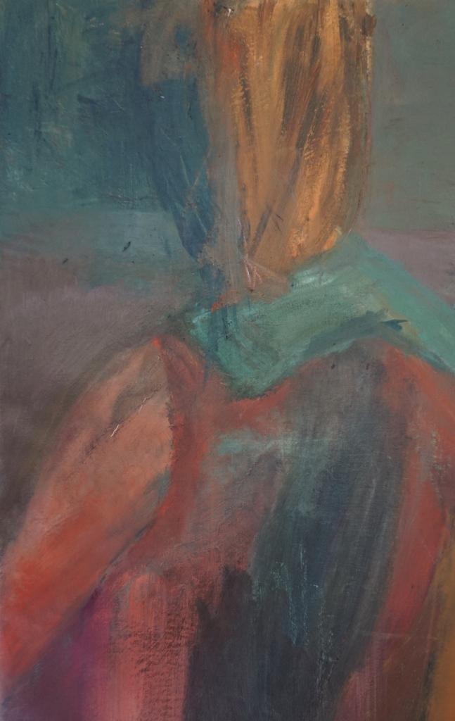 Kvinde med tørklæde
