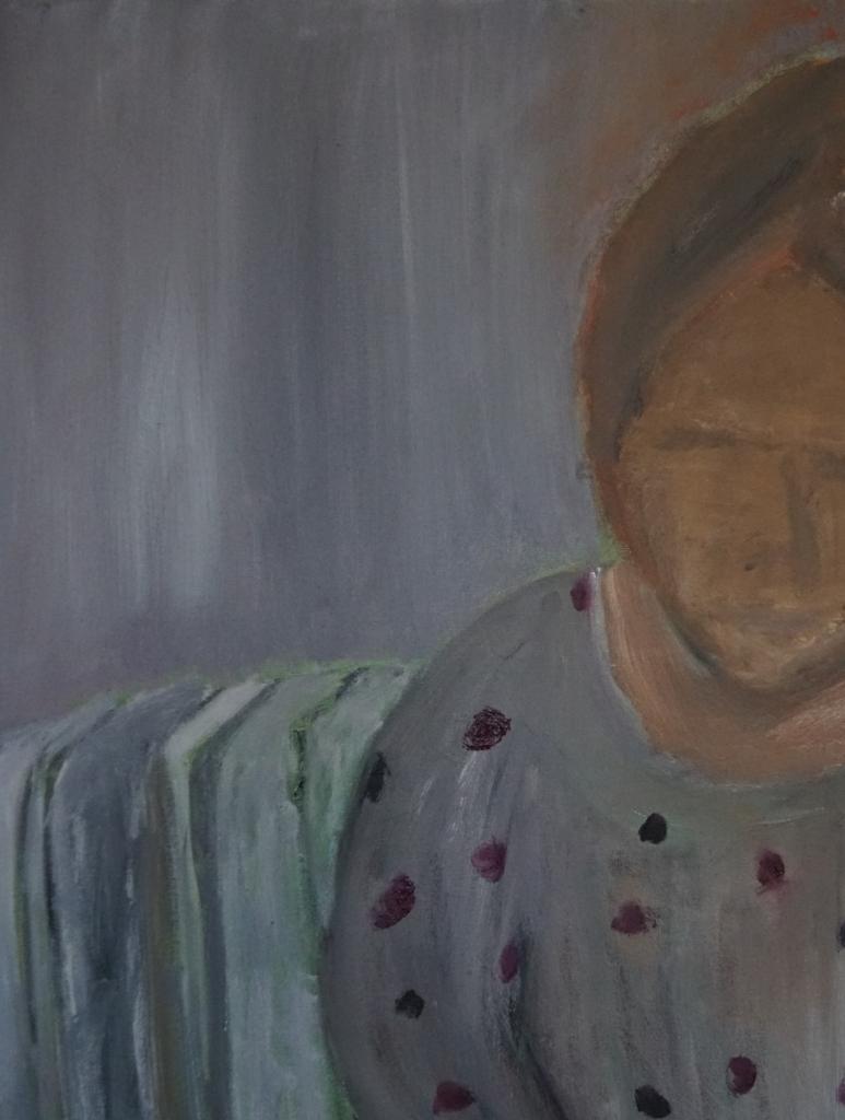 Kvinde i sofa