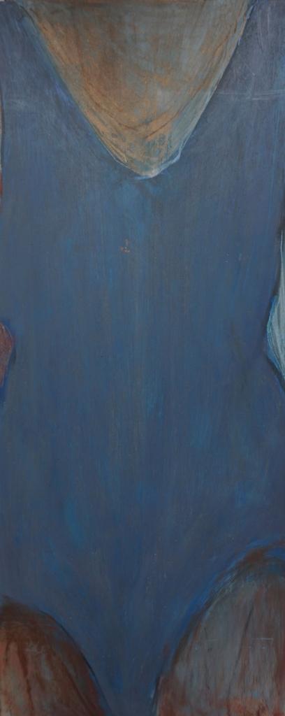Skitse blå dragt forfra 1