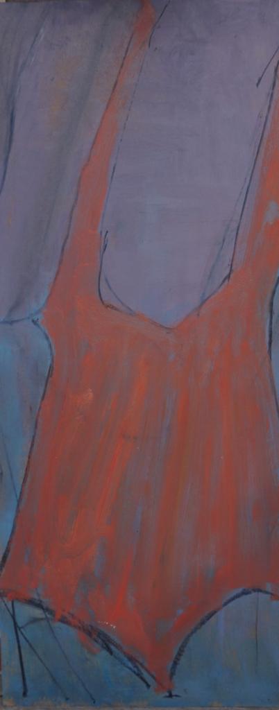 Skitse orange dragt bagfra 1