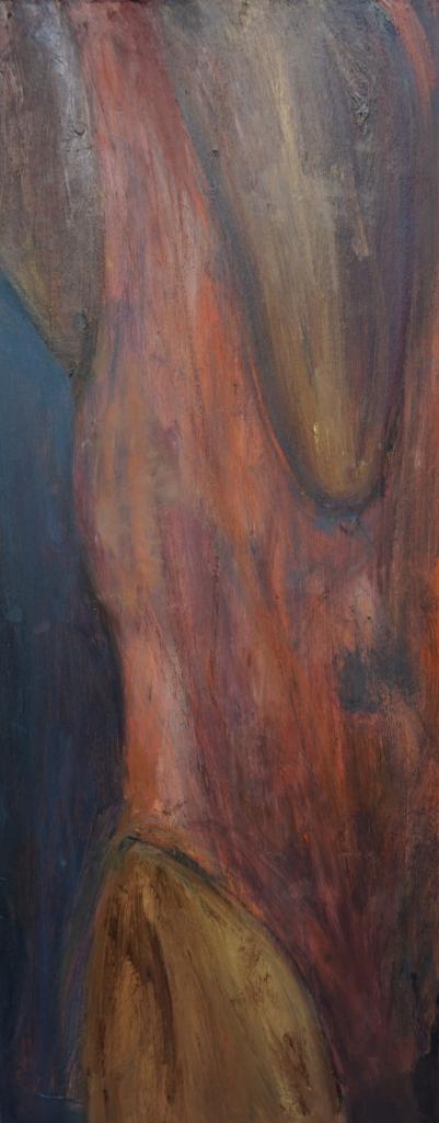 Skitse orange dragt bagfra 2